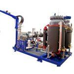 высокотемпературная пенообразовательная машина с циклопентаном, машина для наполнения пеной 32 кВт